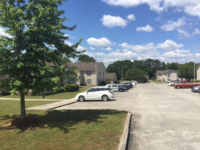 Cryar Homes, Albertville, AL, parking lot long