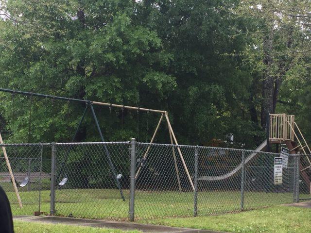 Woodland Commons, Hammond, LA, playground