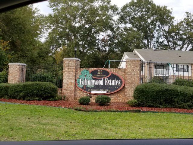 Cottonwood-Estates-Sign-OMI-Jackson-Alabama